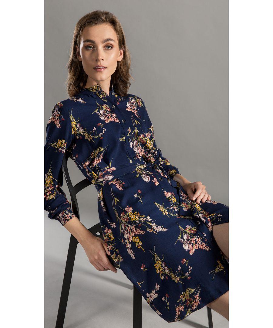 Image for Dress Bonnie Floral Navy