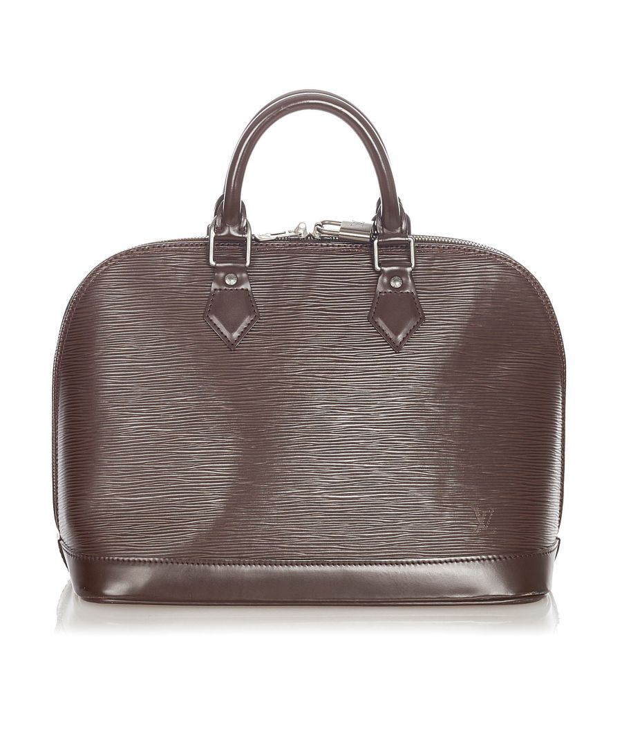 Image for Vintage Louis Vuitton Epi Alma PM Brown