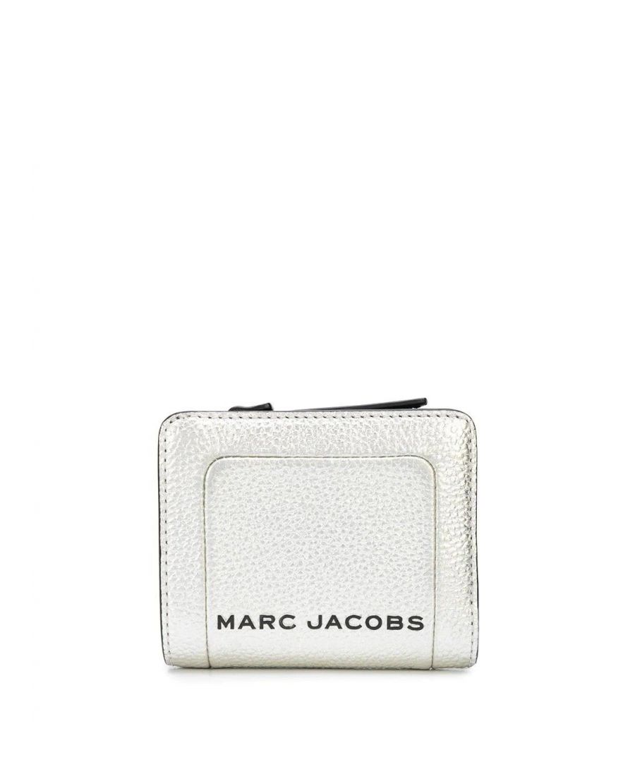 Image for MARC JACOBS WOMEN'S M0016186045 SILVER LEATHER WALLET