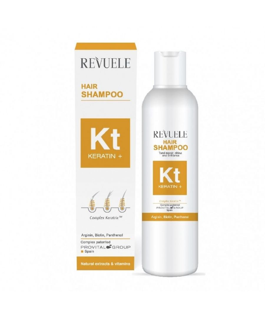Image for Revuele Keratin Plus Hair Shampoo - Pack of 2