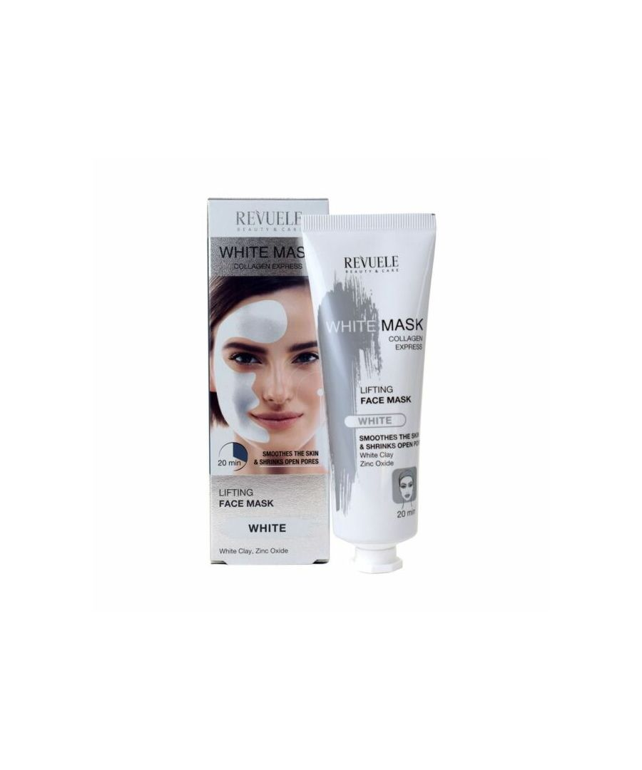 Image for Revuele Lifting White Face Mask Collagen Express - Pack of 2