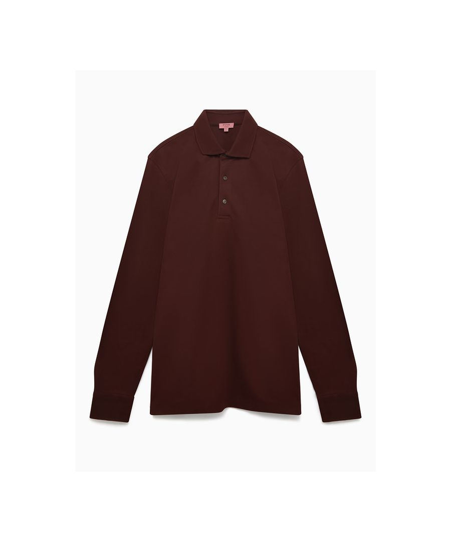 Image for Long Sleeve Polo
