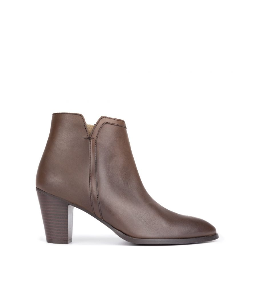 Image for Leather ankle boot