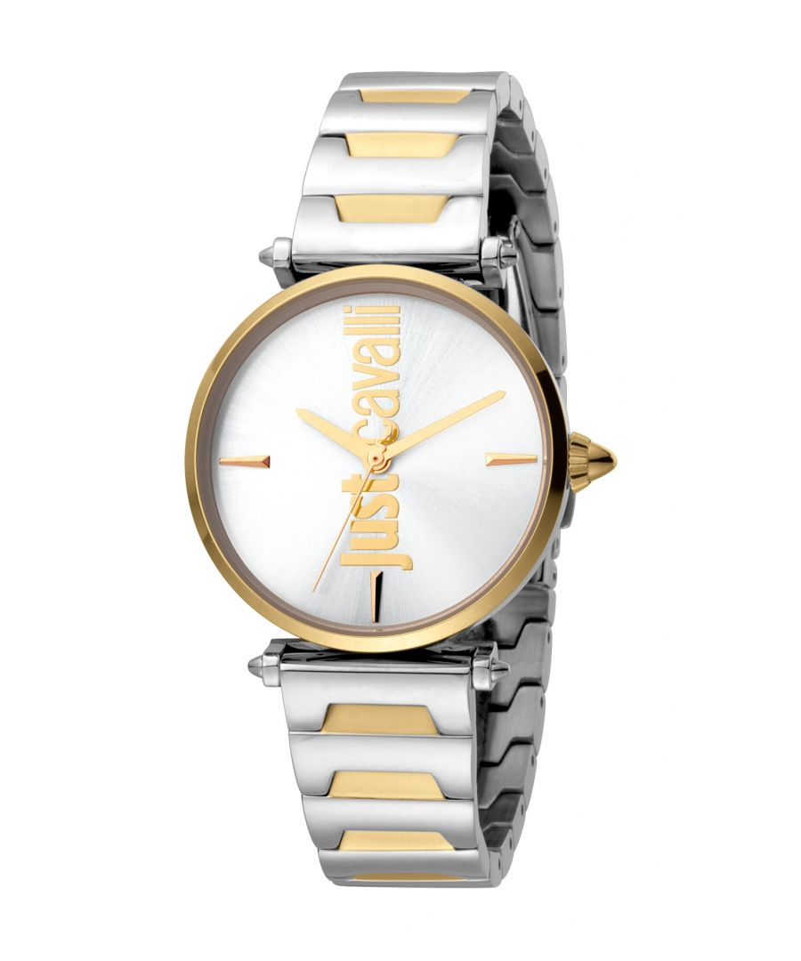 Image for Just Cavalli Womens Armonia Silver  Dial Stainless Steel Watch