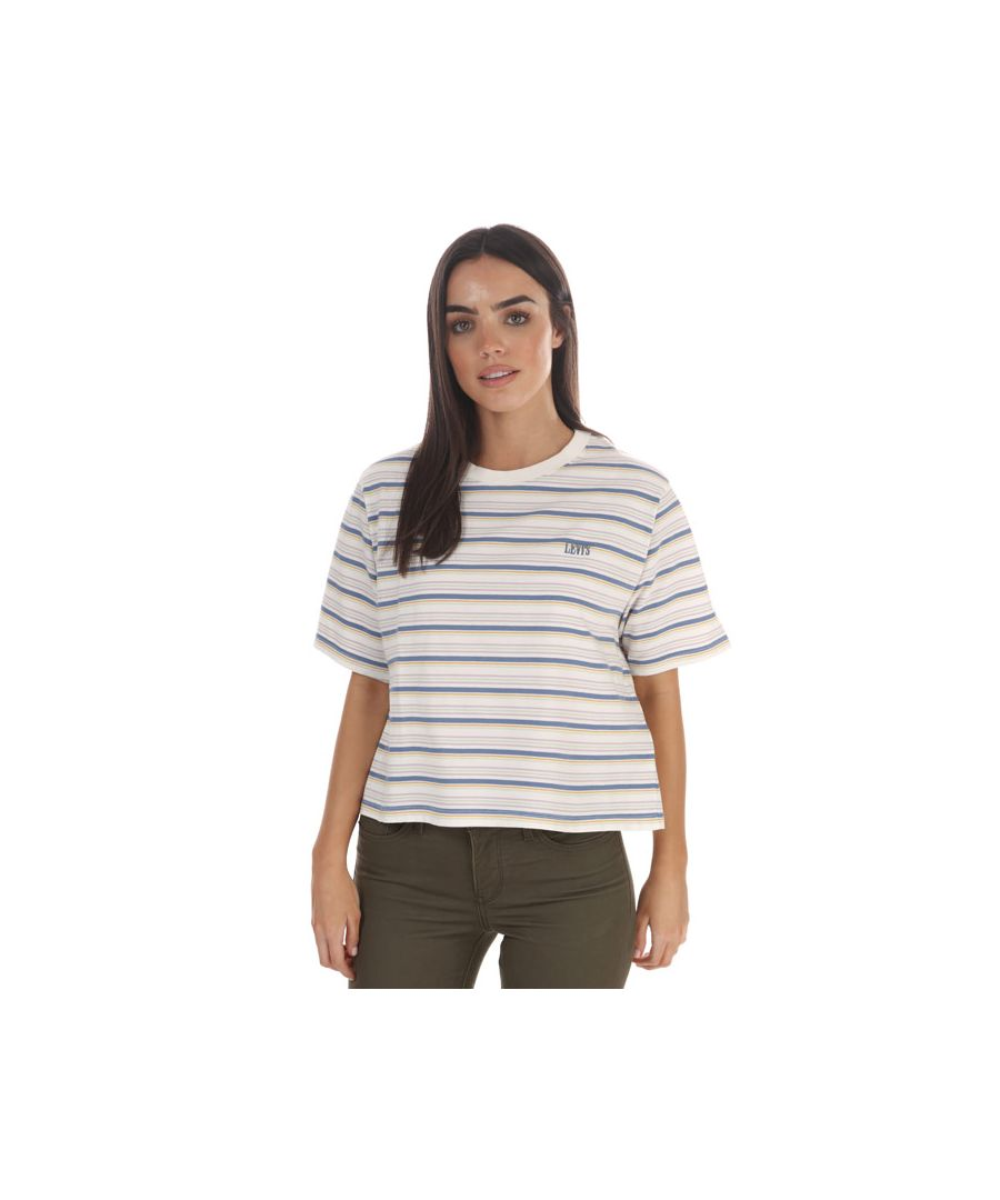 Image for Women's Levis Boxy T-Shirt White 6in White