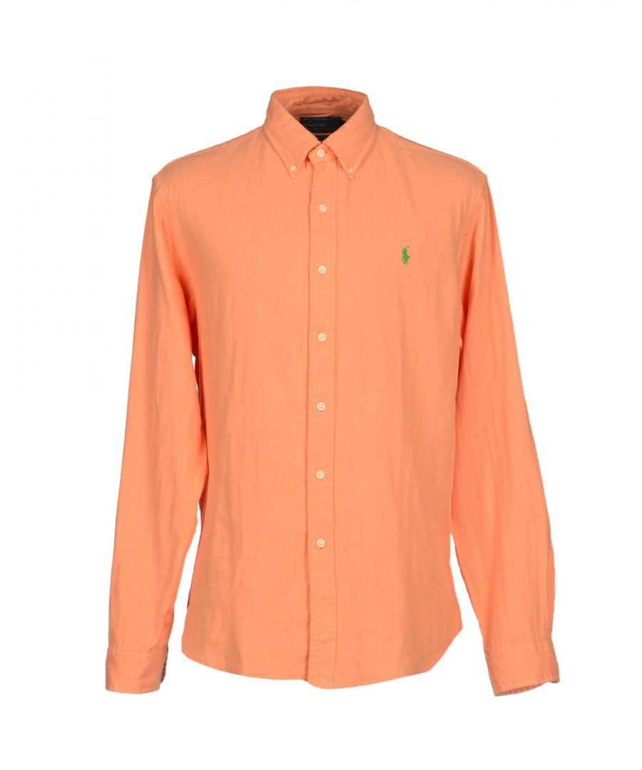 Image for Polo Ralph Lauren Orange Cotton Shirt
