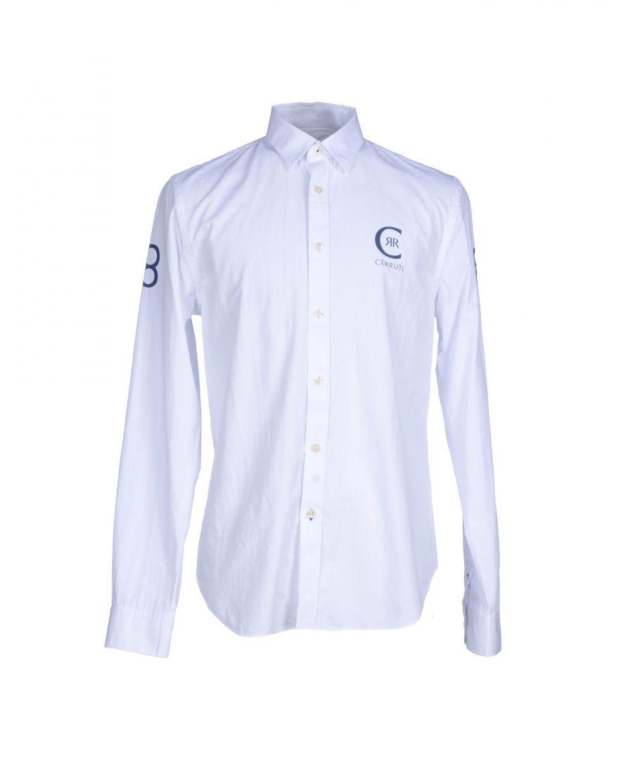 Image for Cerruti 1881 White Cotton Shirt