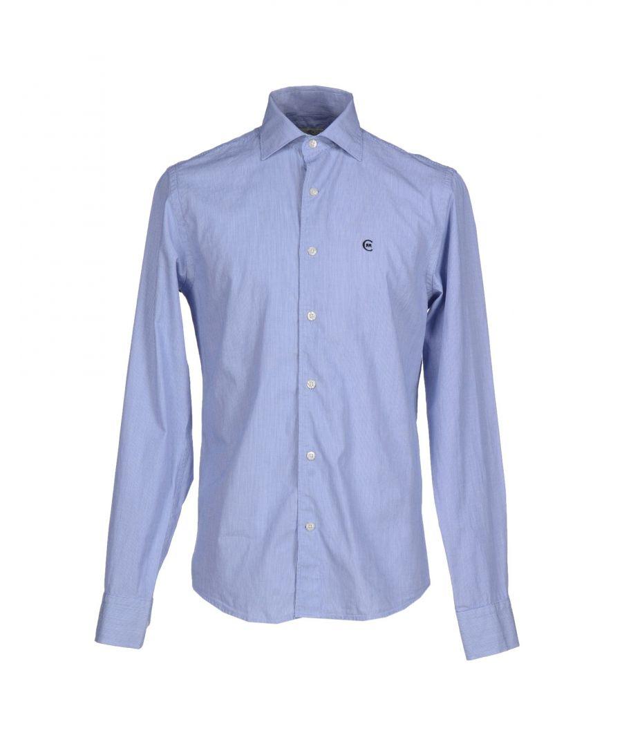 Image for Cerruti 1881 Blue Cotton Shirt
