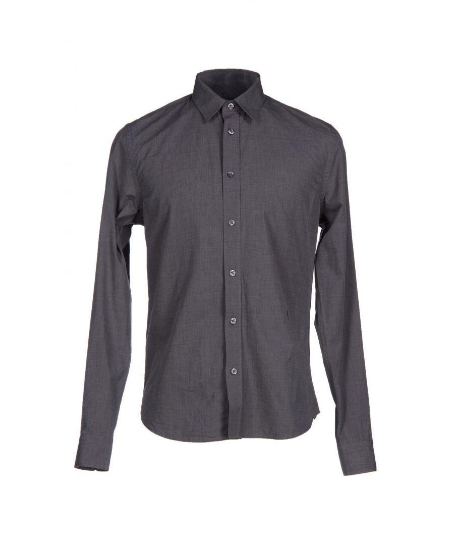 Image for Cerruti 1881 Steel Grey Cotton Shirt