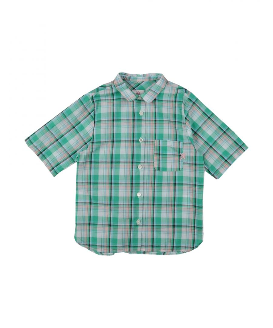 Image for Mauro Grifoni Green Cotton Shirt