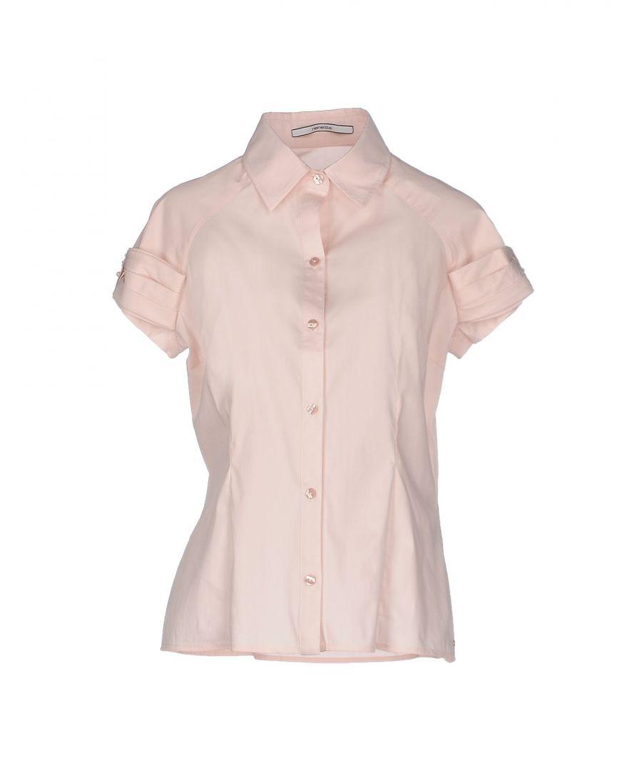 Image for Nenette Pink Cotton Short Sleeve Shirt
