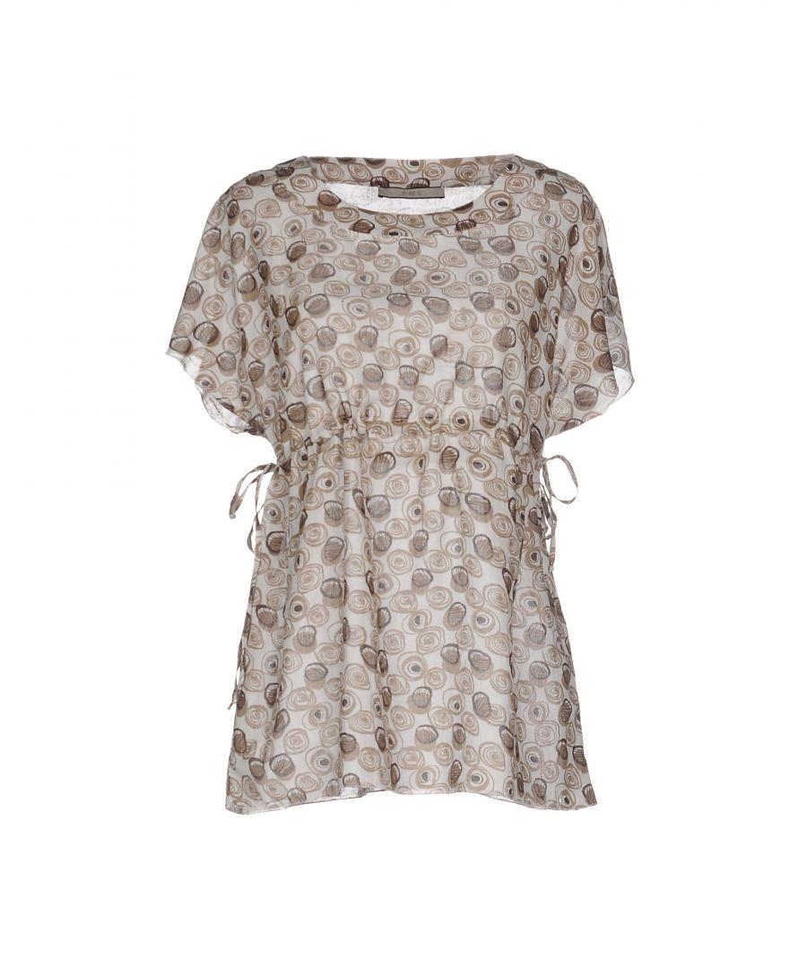 Image for Pme Peserico Woman Blouses Khaki Cotton