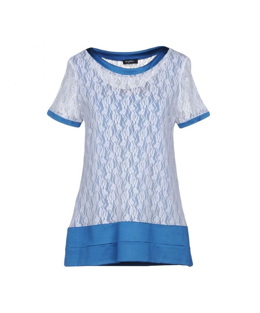 Image for Byblos Blue Lace T-Shirt