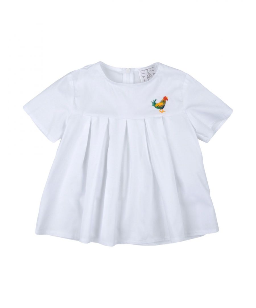 Image for Stella Jean Girl Blouses White Cotton