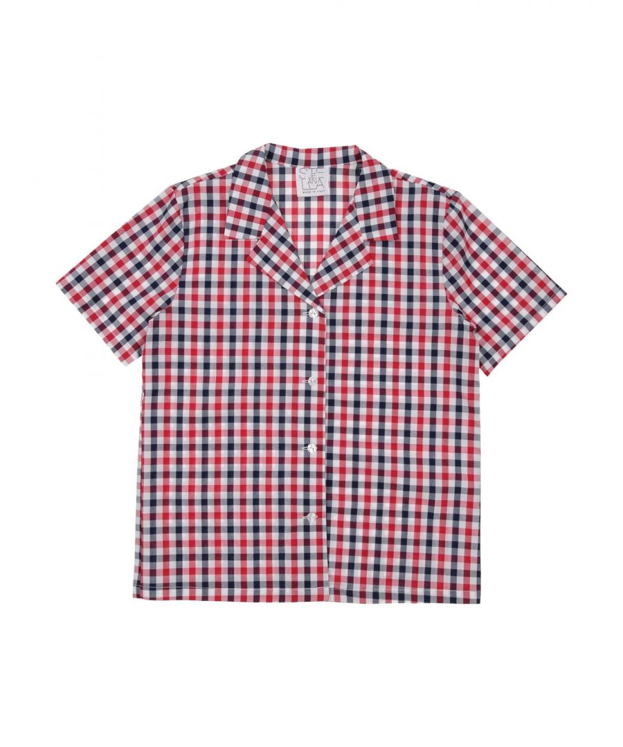 Image for Stella Jean Girl Shirts Red Cotton