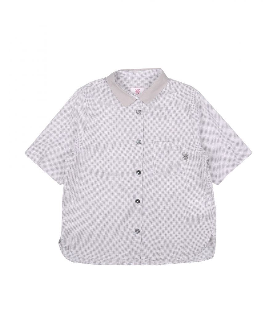 Image for Mauro Grifoni Grey Cotton Shirt