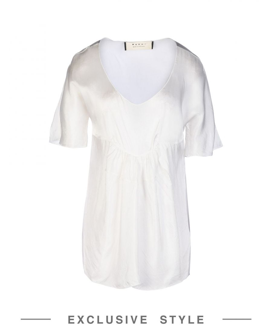 Image for Marni White Viscose Bluse