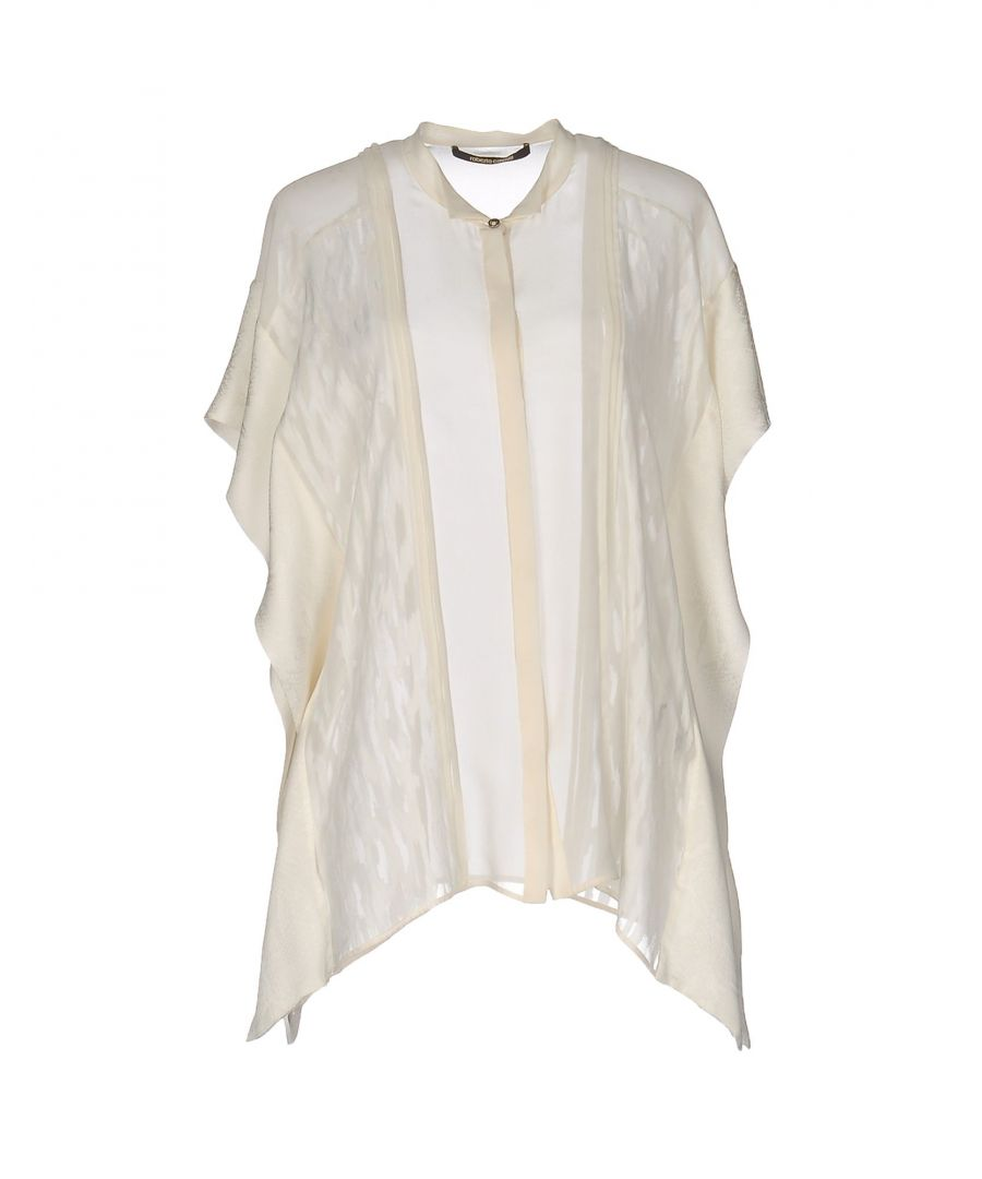 Image for Roberto Cavalli White Silk Camicie