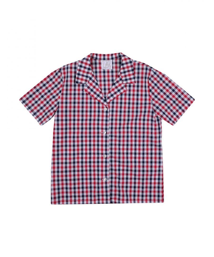 Image for Stella Jean Girl Shirts Garnet Cotton