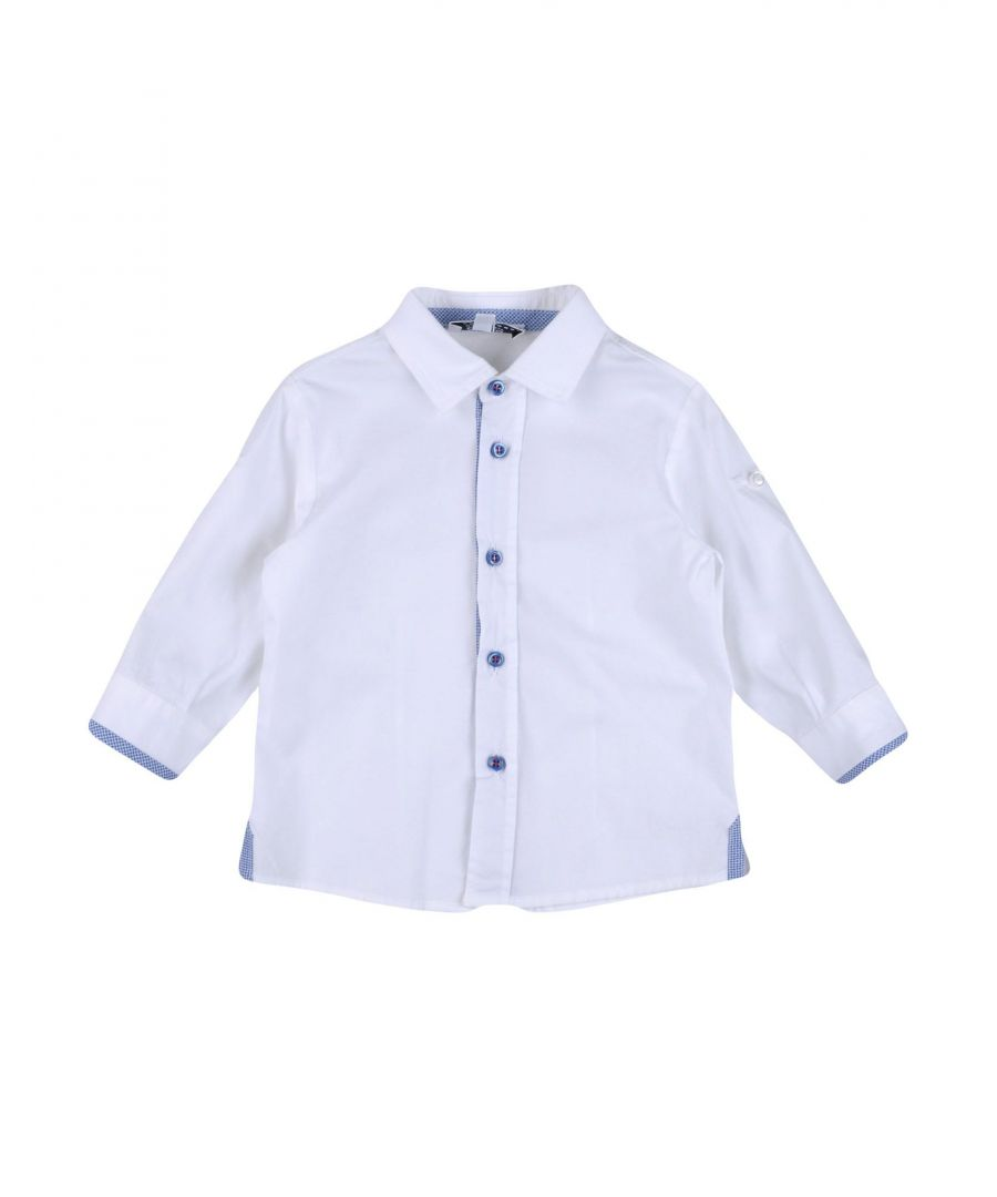 Image for Aletta White Boy Cotton Shirt