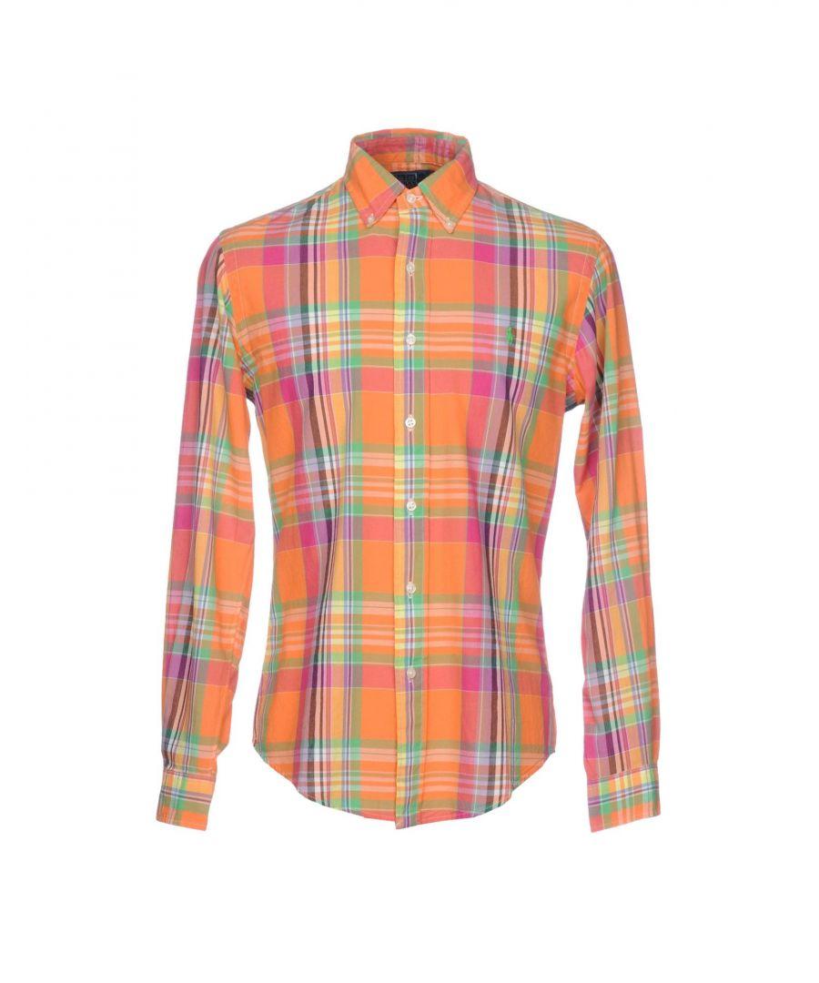 Image for Polo Ralph Lauren Orange Cotton Tartan Shirt