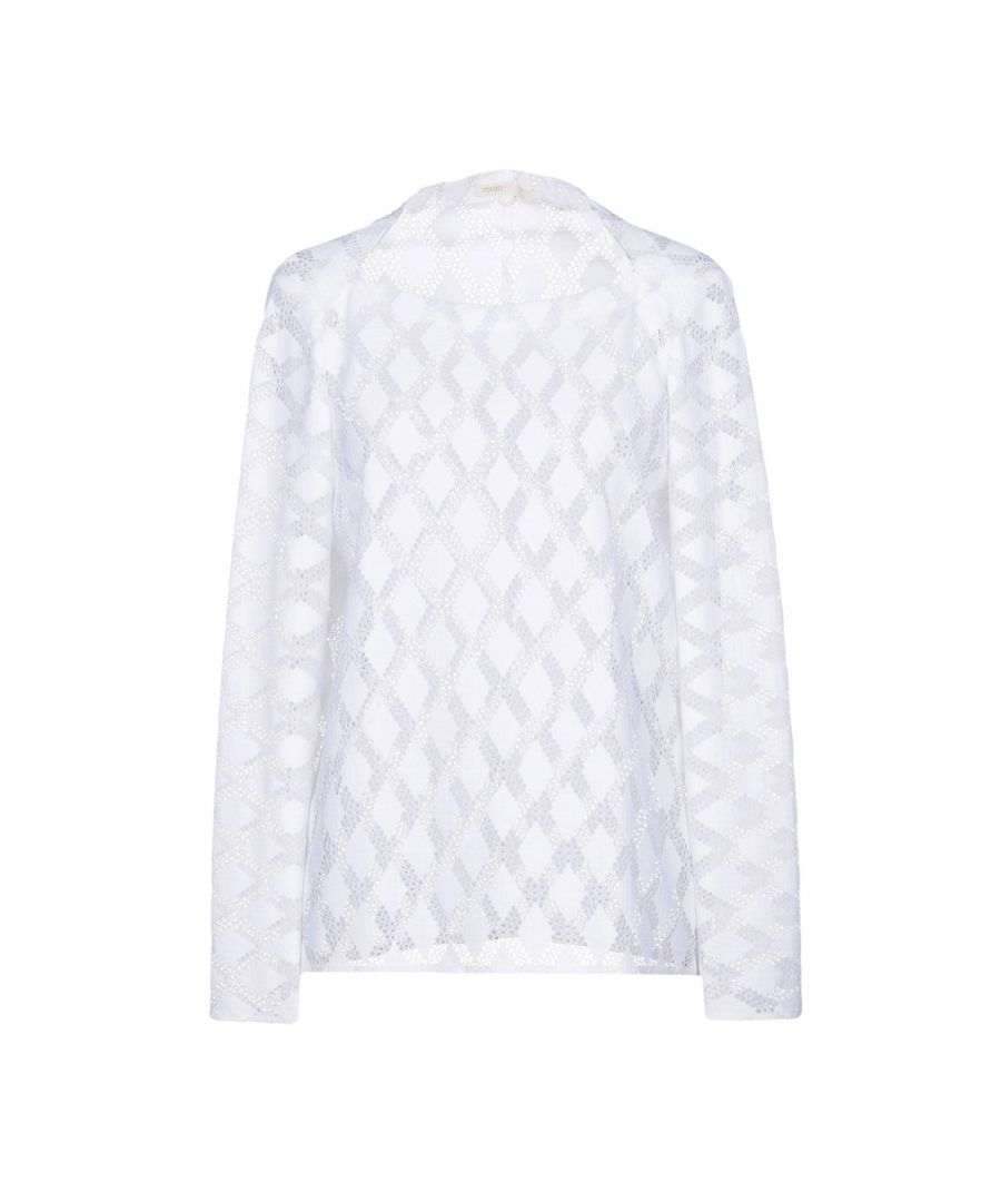 Image for Maje White Lace Blouse