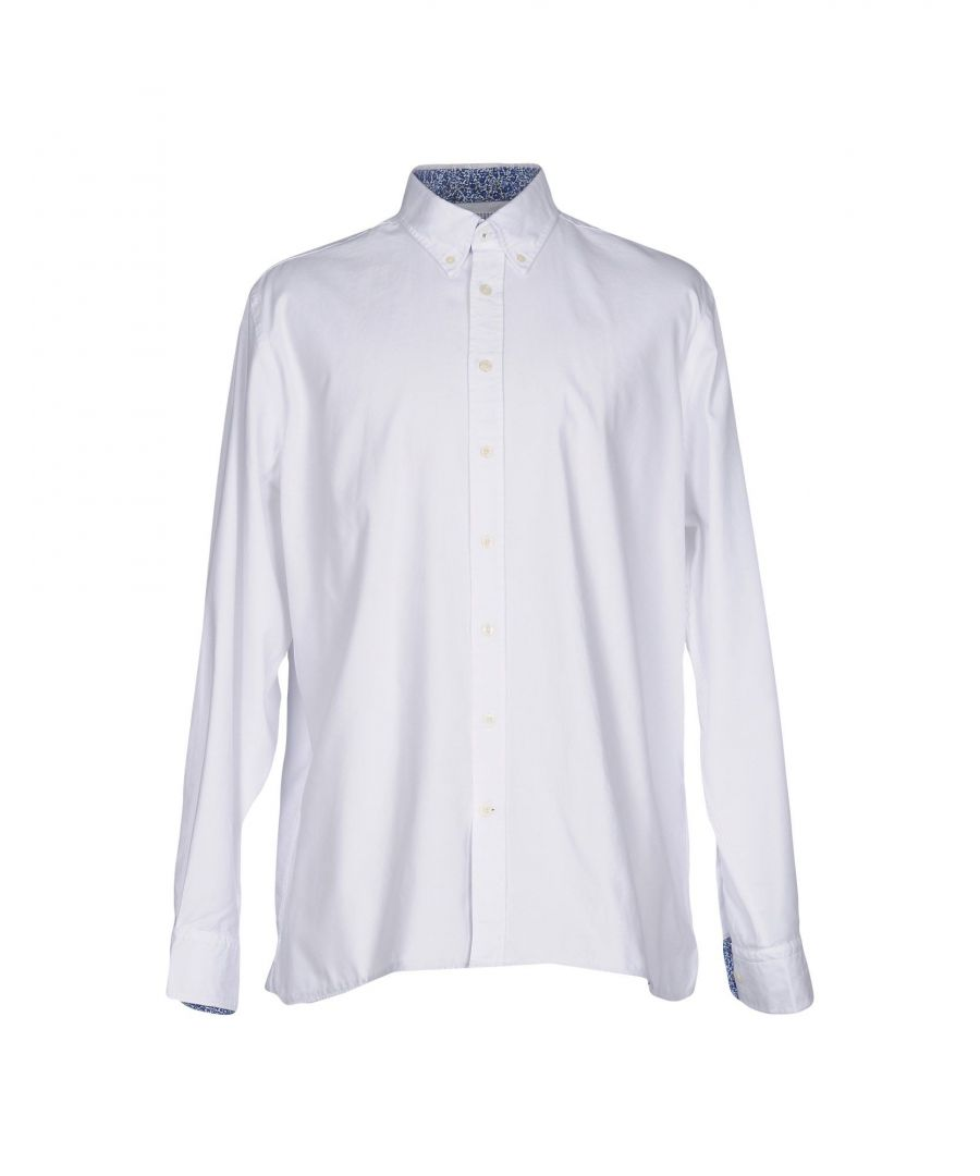 Image for SHIRTS Hackett White Man Cotton