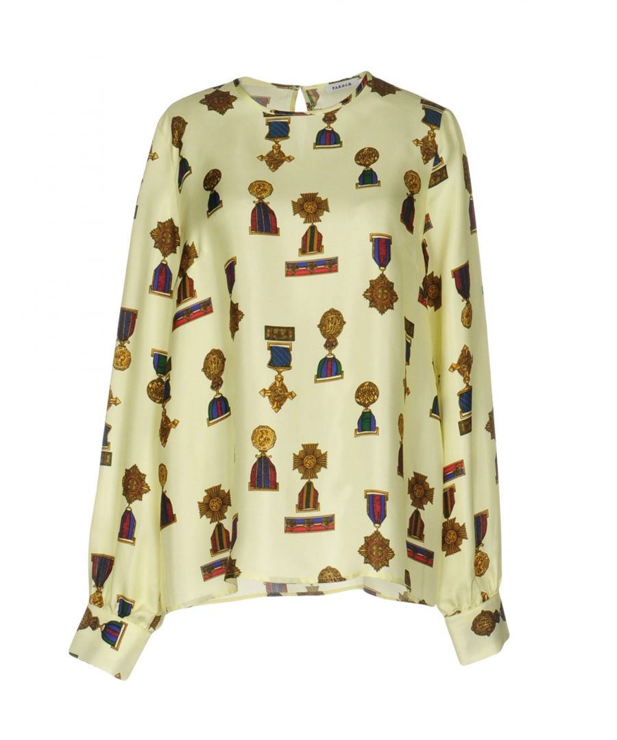 Image for SHIRTS Woman P.A.R.O.S.H. Light yellow Silk