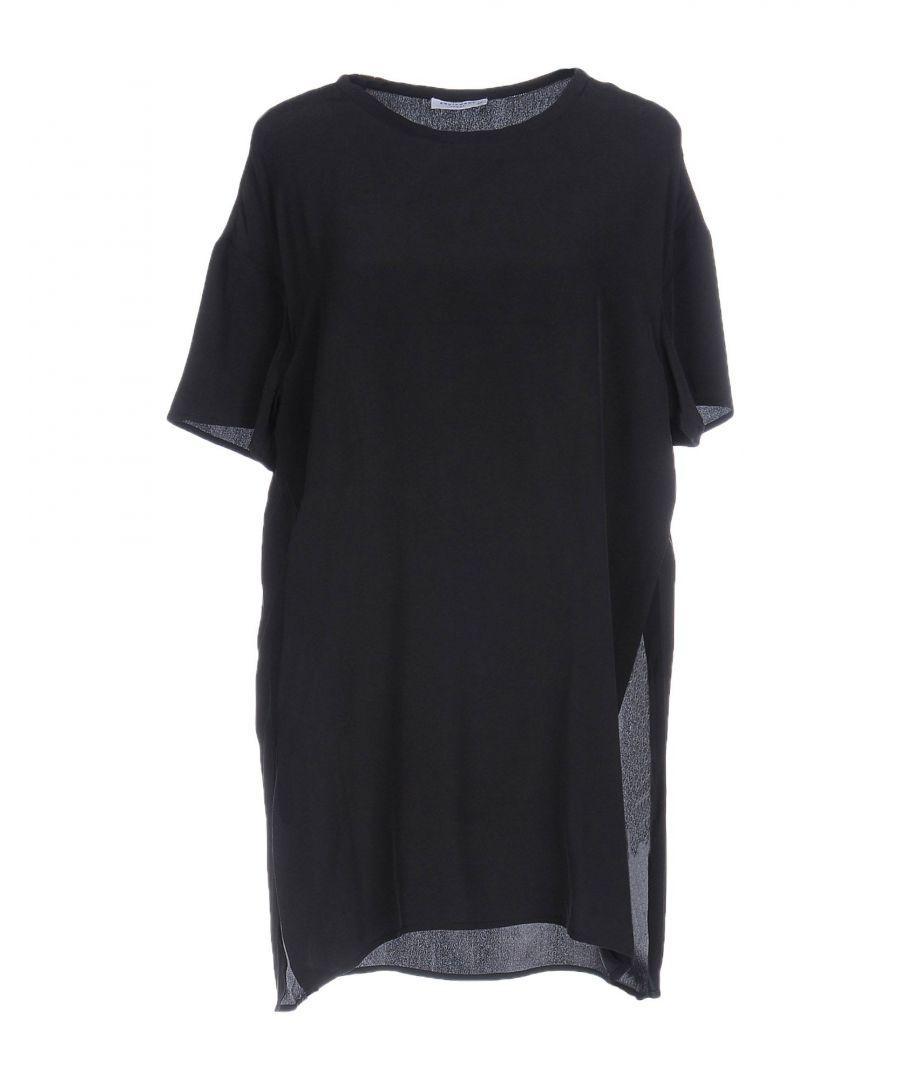 Image for Equipment Black Silk Shirt