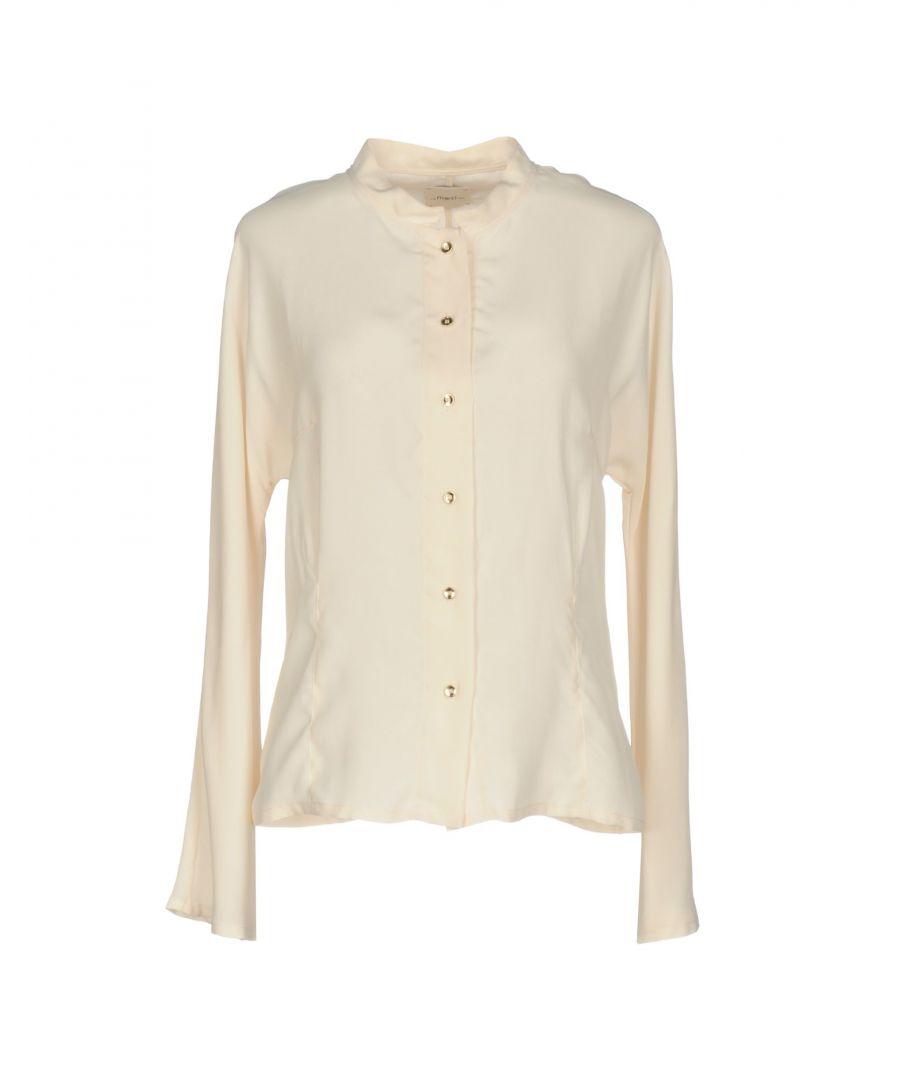 Image for Merci Ivory Crepe Shirt