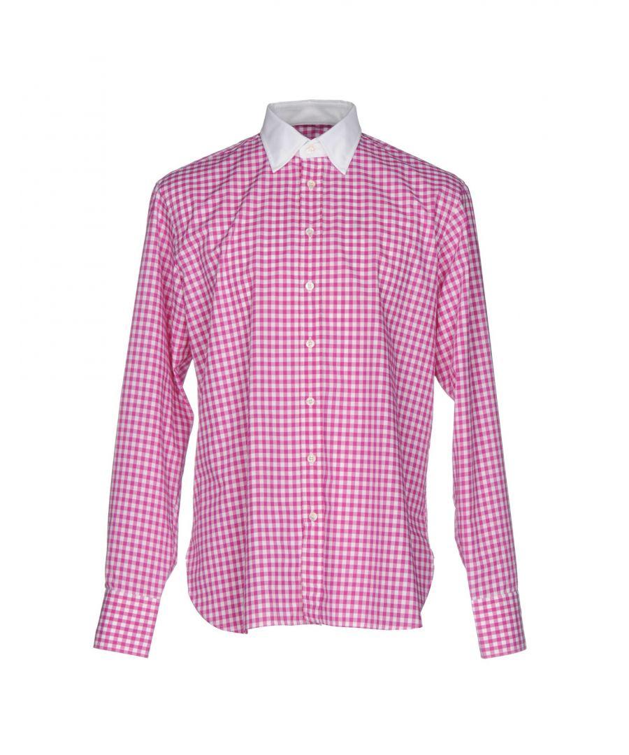 Image for Etro Fuchsia Check Cotton Shirt