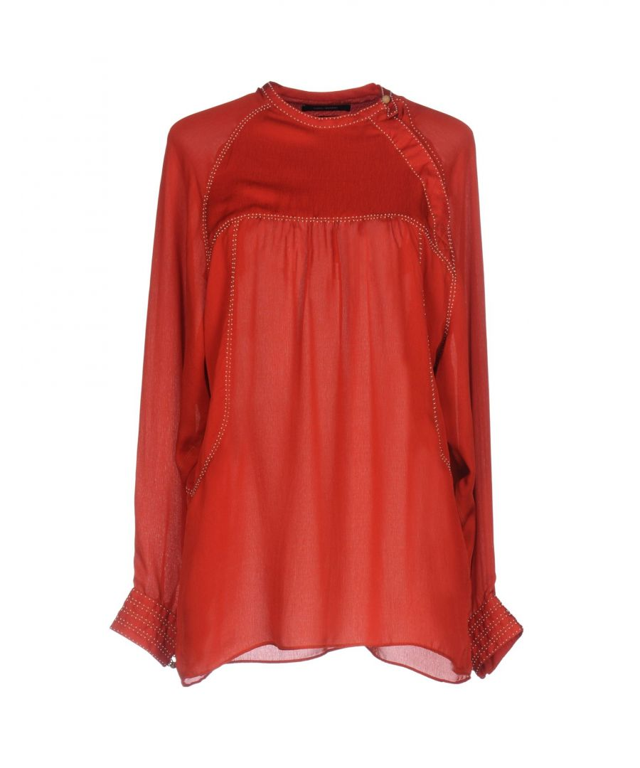 Image for Isabel Marant Red Silk Blouse
