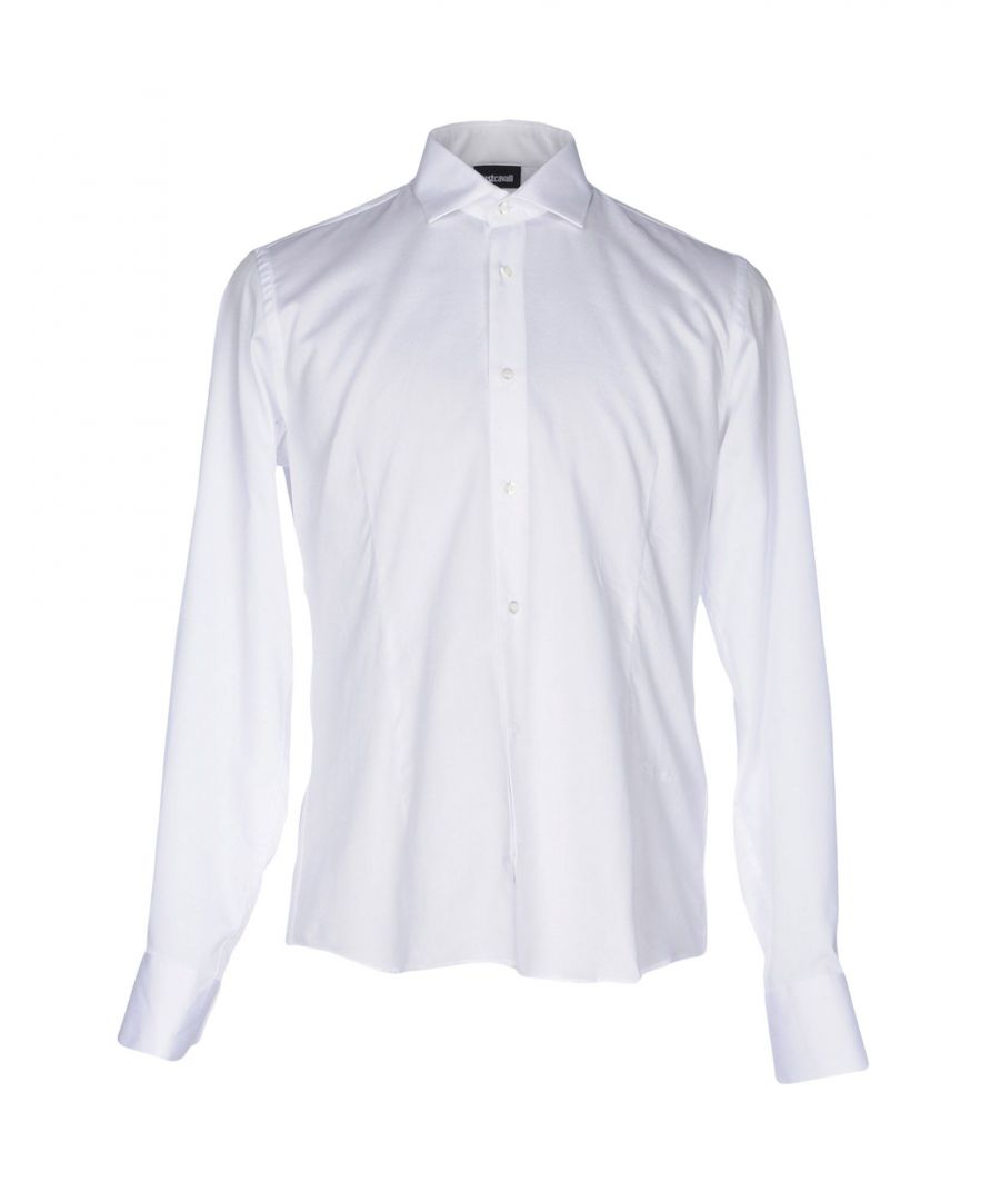 Image for Just Cavalli White Cotton Shirt