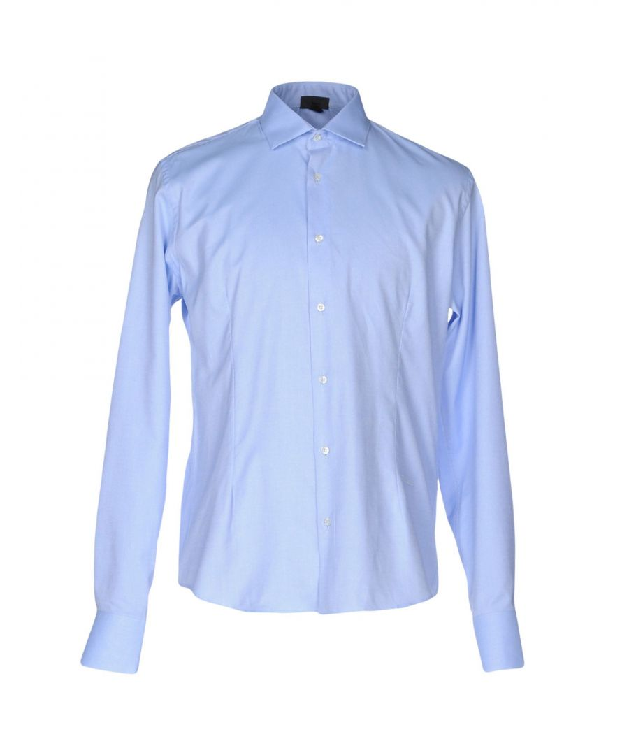 Image for Just Cavalli Sky Blue Cotton Shirt