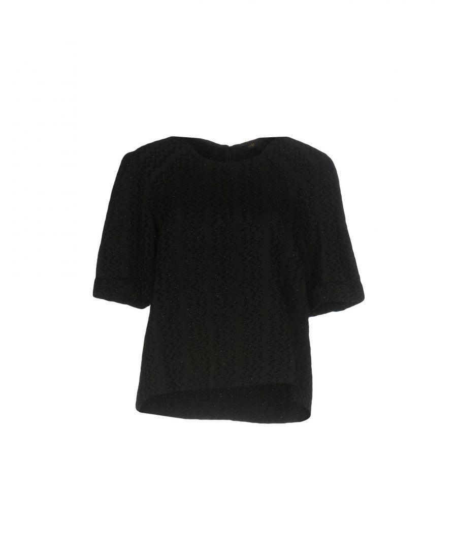 Image for Maje Black Short Sleeve Shirt