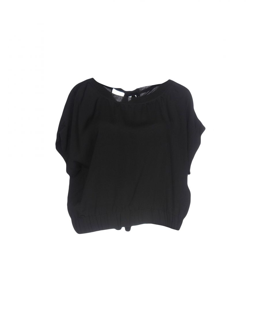 Image for Boutique Moschino Black Crepe Blouse