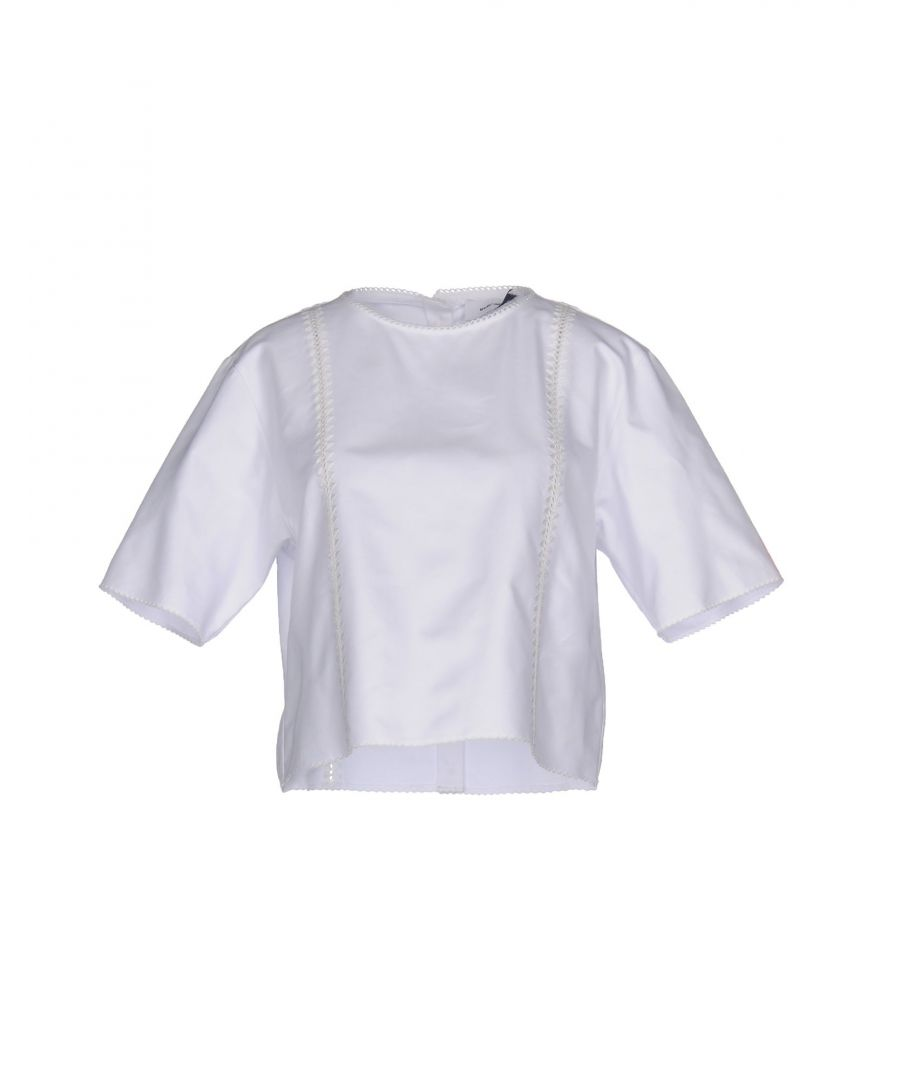 Image for SHIRTS Mauro Grifoni White Woman Cotton