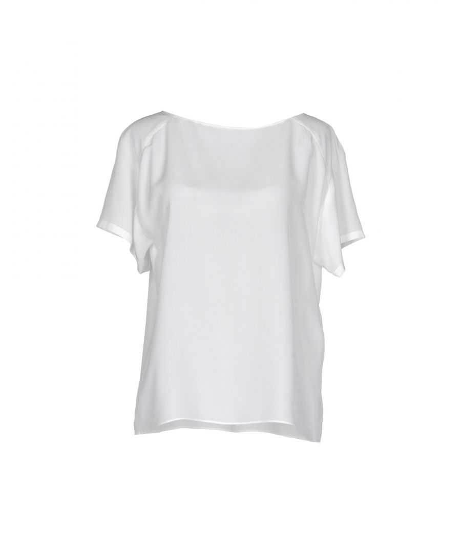 Image for Alberta Ferretti Ivory Silk Blouse