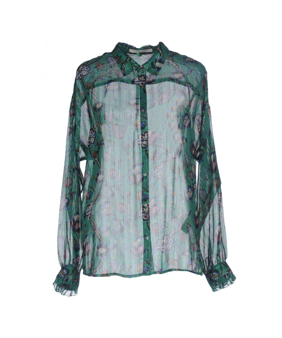 Image for SHIRTS Maison Scotch Green Woman Polyester