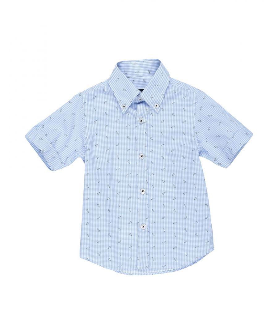 Image for SHIRTS Harmont&Blaine Sky blue Boy Cotton