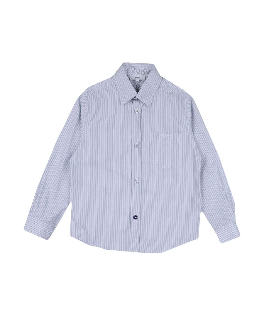Image for SHIRTS Boss Light grey Boy Cotton