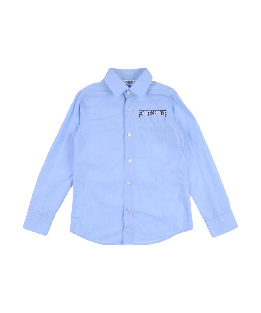 Image for SHIRTS Bikkembergs Sky blue Boy Cotton