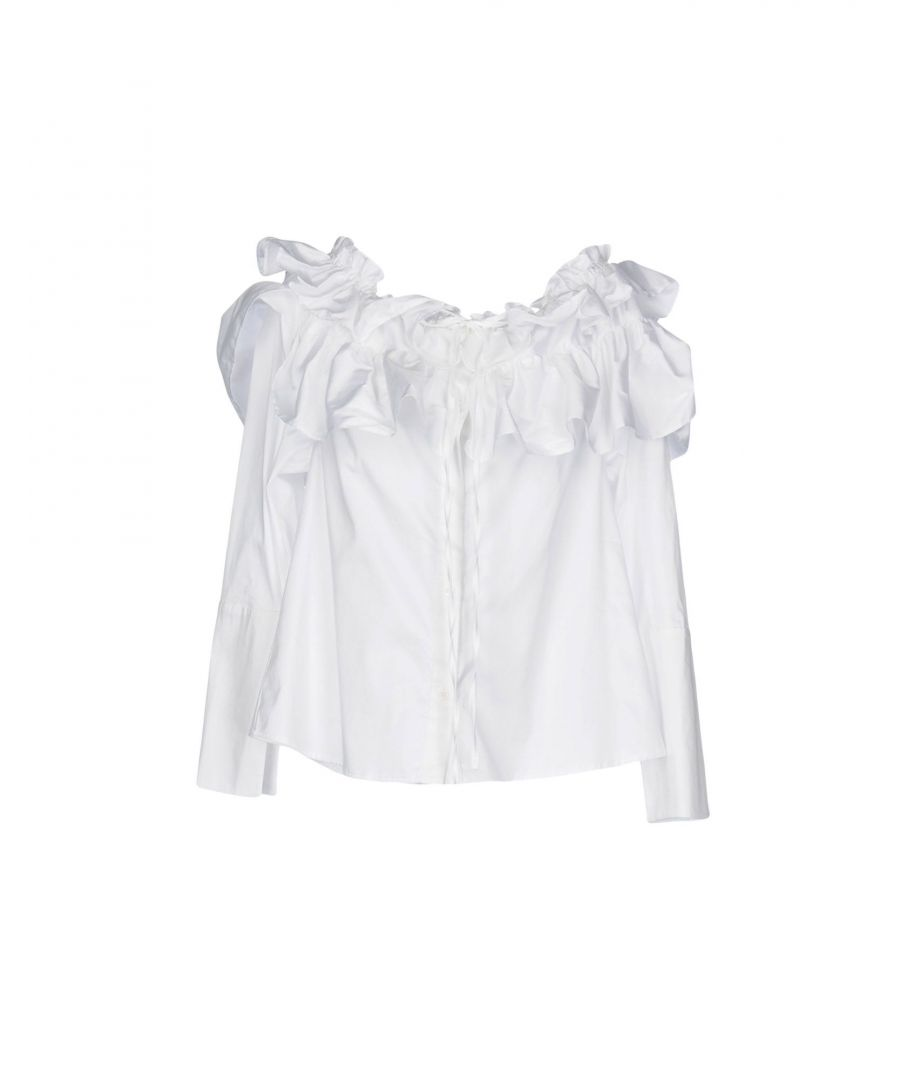 Image for Opening Ceremony White Cotton Blouse