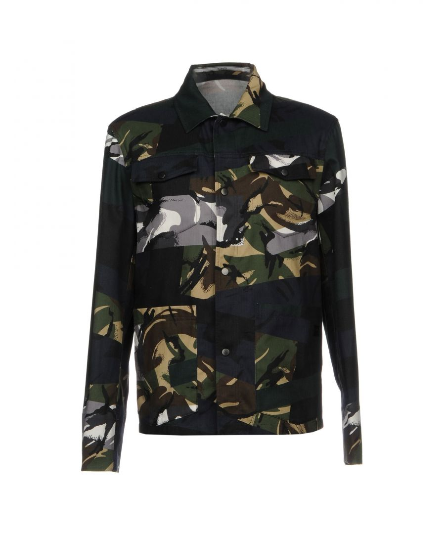 Image for Kenzo Dark Green Cotton Shirt