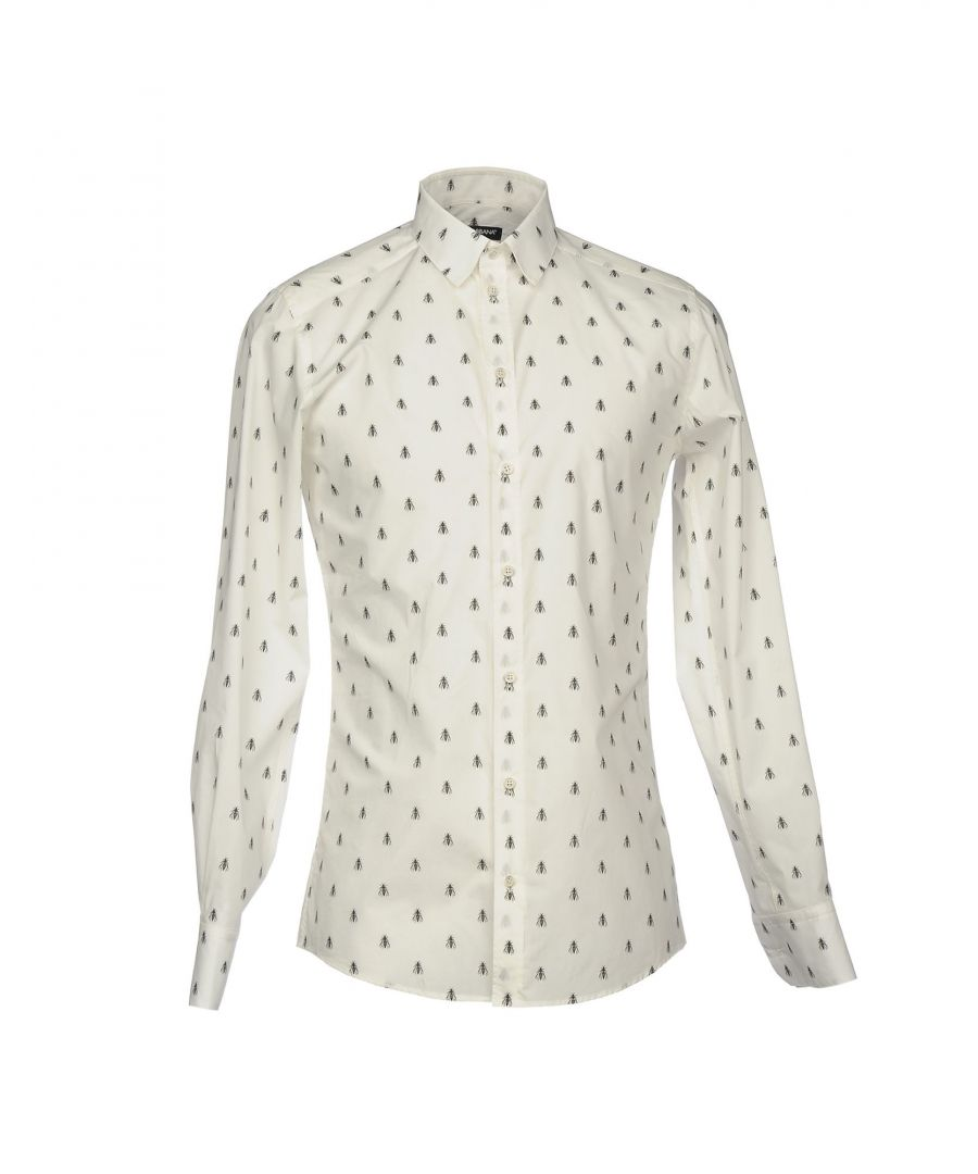 Image for Dolce & Gabbana Ivory Cotton Shirt