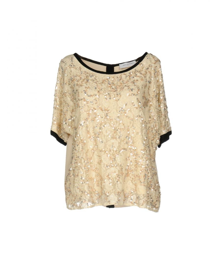Image for Anna Rachele Jeans Collection Sand Sequin And Lace Blouse