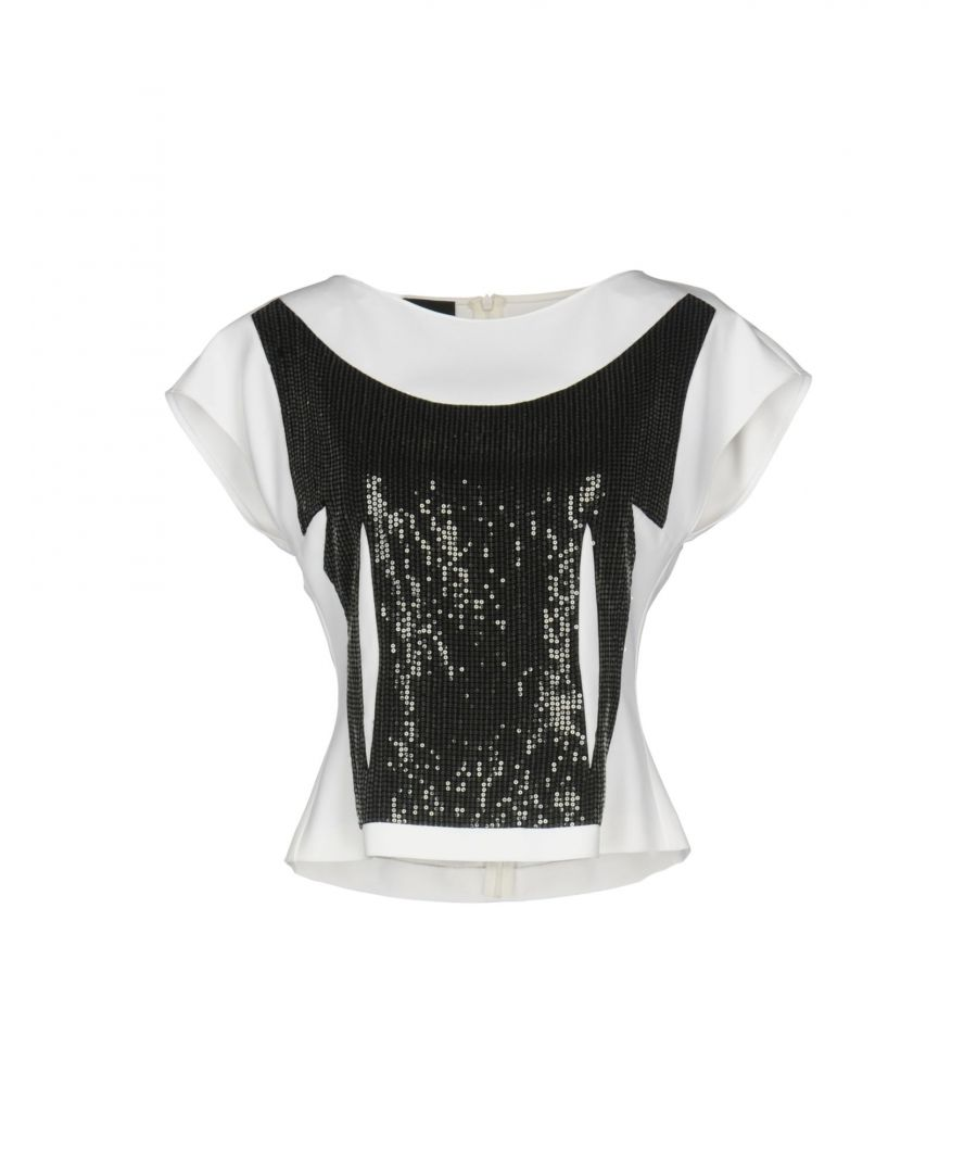 Image for Boutique Moschino Monochrome Sequin Blouse