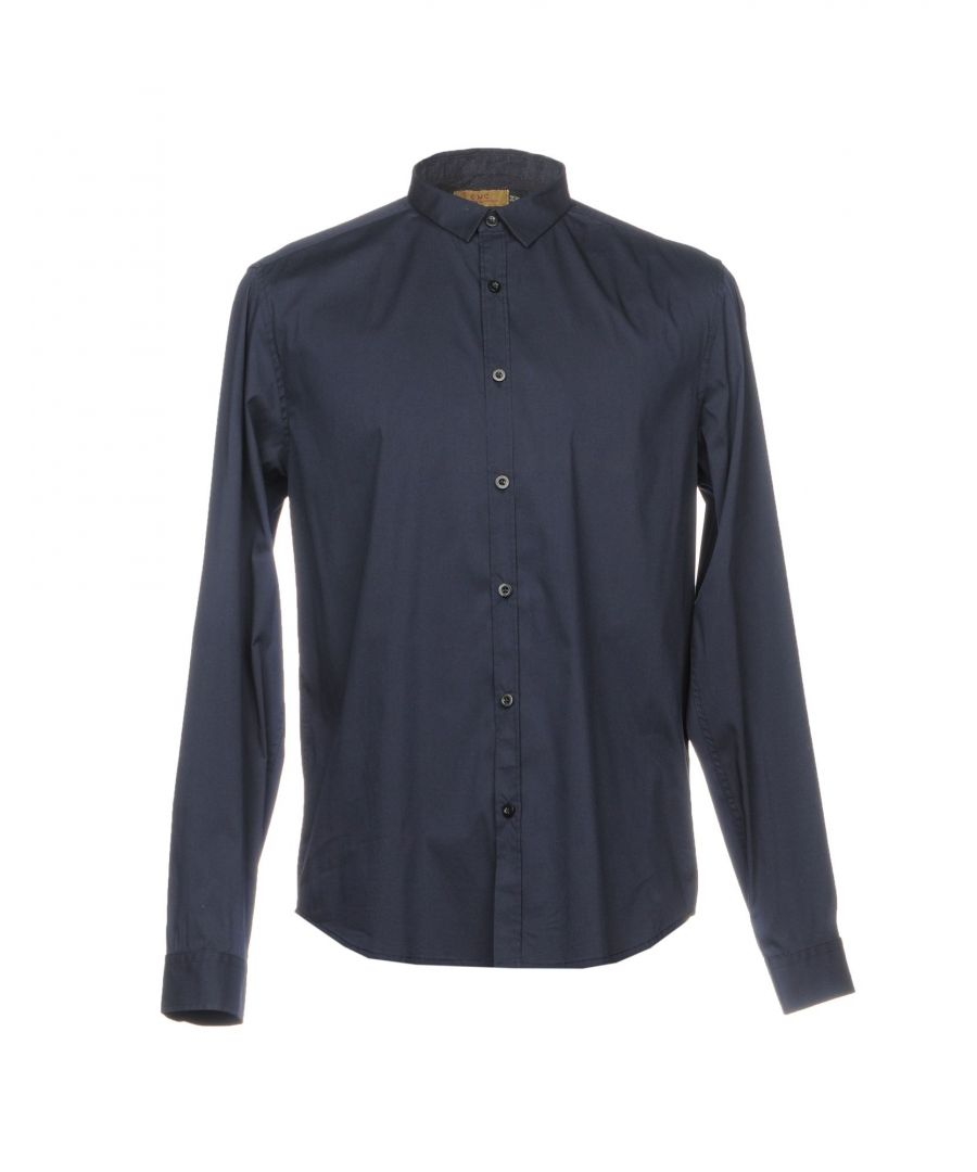 Image for C'N'C' Costume National Dark Blue Cotton Shirt