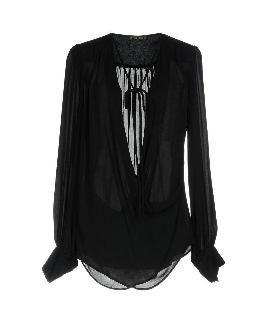 Image for SHIRTS Plein Sud Black Woman Silk