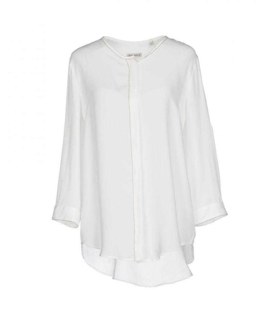 Image for Camicettasnob White Silk Blouse